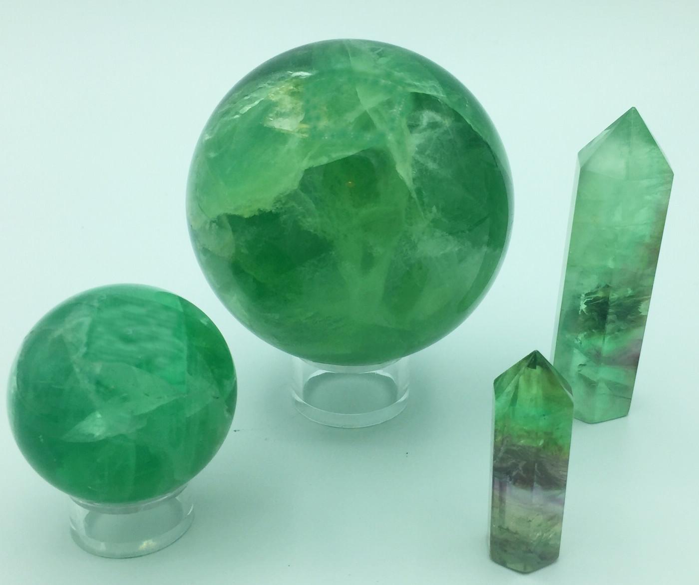 Boule  fluorite